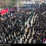 گزارش تصویری آیین عزاداری عاشورای حسینی و شام غریبان رویین