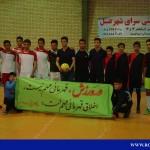 گزارش تصویری مسابقات فوتسال جام نوروز روستای روئین